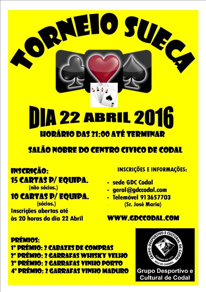 TORNEIO SUECA A4 2016